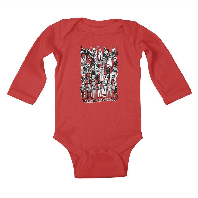 Skeleton Krewe 2018 Kids Baby Longsleeve Bodysuit by Skeleton Krewe's Shop