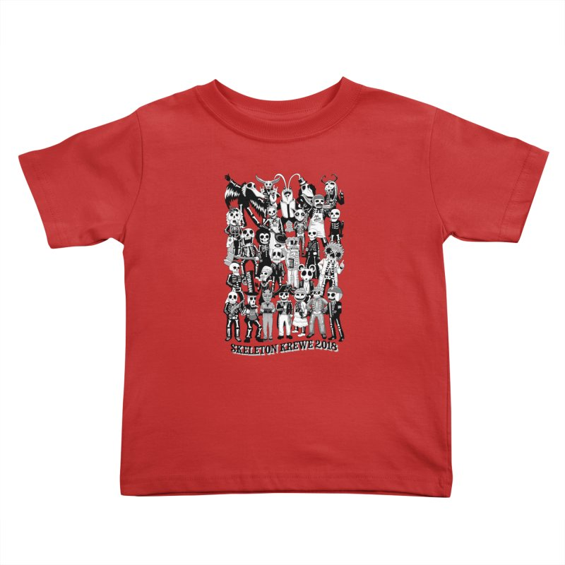 Skeleton Krewe 2018 Kids Toddler T-Shirt by Skeleton Krewe's Shop