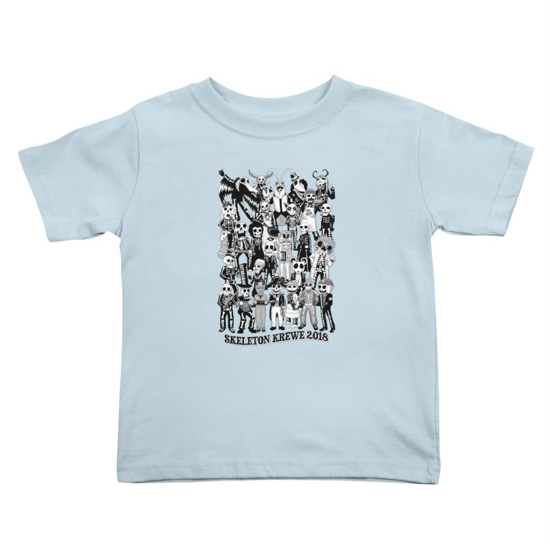 Skeleton Krewe 2018 Kids Toddler T-Shirt by Skeleton Krewe's Shop