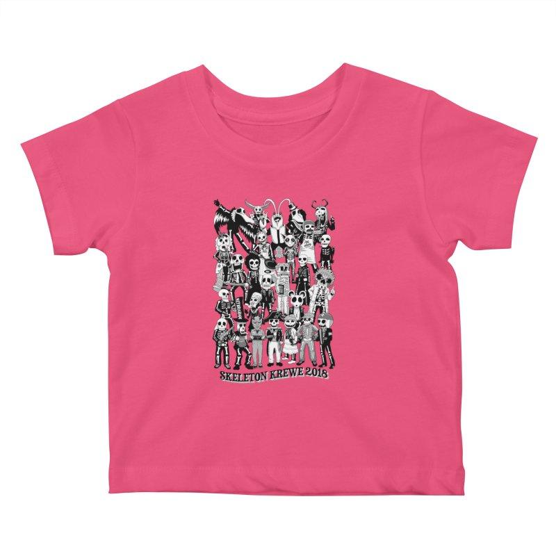 Skeleton Krewe 2018 Kids Baby T-Shirt by Skeleton Krewe's Shop