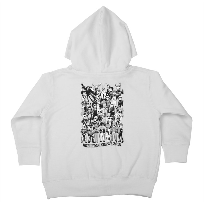 Skeleton Krewe 2018 Kids Toddler Zip-Up Hoody by Skeleton Krewe's Shop