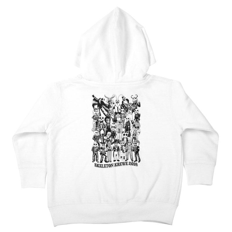 Skeleton Krewe 2018 Kids Toddler Zip-Up Hoody by Skeleton Krewe's Shop