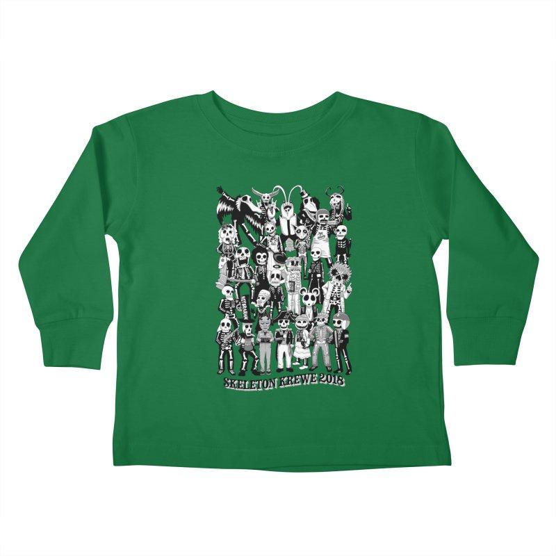 Skeleton Krewe 2018 Kids Toddler Longsleeve T-Shirt by Skeleton Krewe's Shop