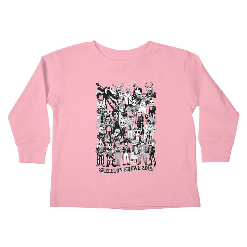 Skeleton Krewe 2018 Kids Toddler Longsleeve T-Shirt by Skeleton Krewe's Shop
