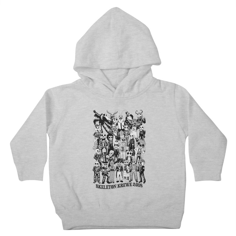 Skeleton Krewe 2018 Kids Toddler Pullover Hoody by Skeleton Krewe's Shop