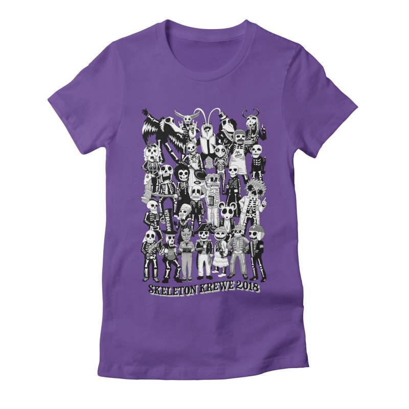 Skeleton Krewe 2018 Women's Fitted T-Shirt by Skeleton Krewe's Shop