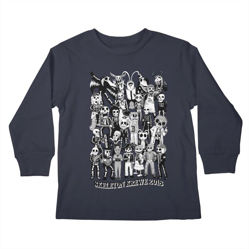 Skeleton Krewe 2018 Kids Longsleeve T-Shirt by Skeleton Krewe's Shop