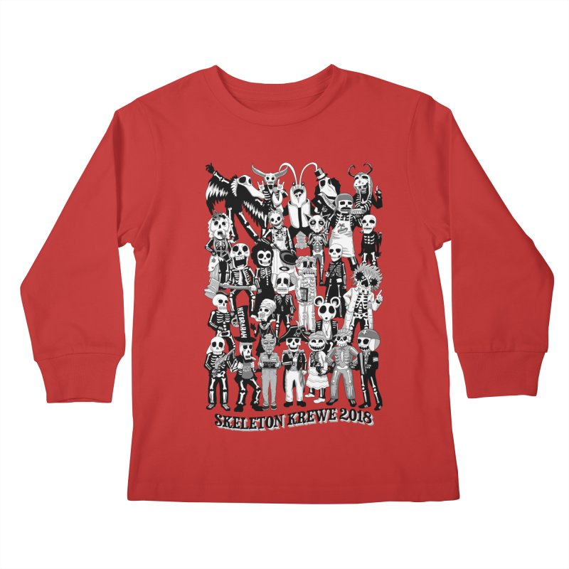Skeleton Krewe 2018 Kids Longsleeve T-Shirt by Skeleton Krewe's Shop