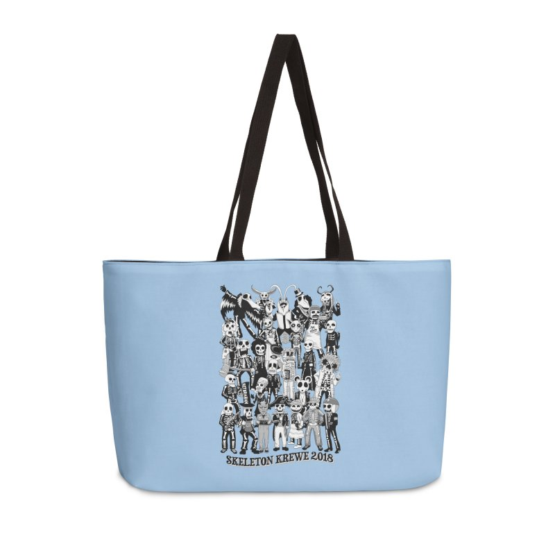 Skeleton Krewe 2018 Accessories Weekender Bag Bag by Skeleton Krewe's Shop