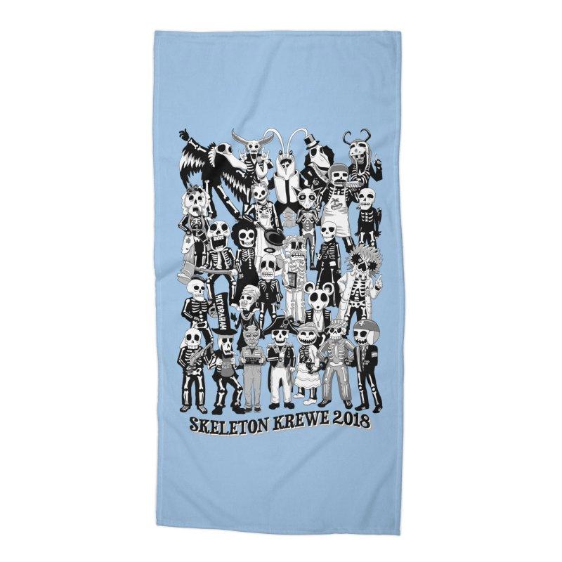Skeleton Krewe 2018 Accessories Beach Towel by Skeleton Krewe's Shop