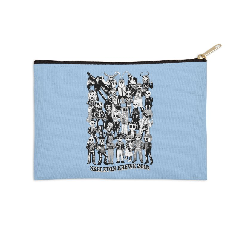 Skeleton Krewe 2018 Accessories Zip Pouch by Skeleton Krewe's Shop