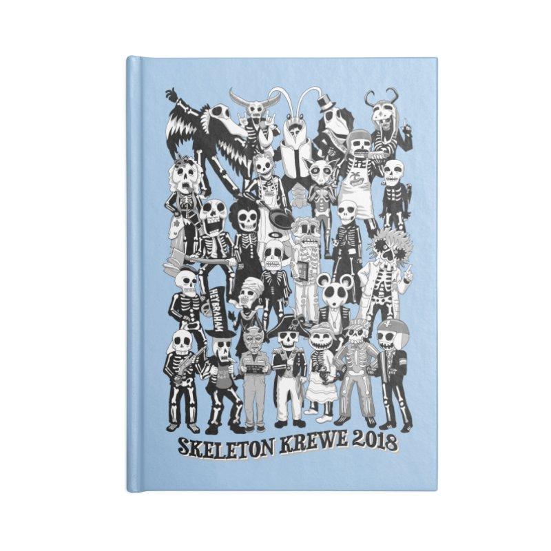 Skeleton Krewe 2018 Accessories Lined Journal Notebook by Skeleton Krewe's Shop
