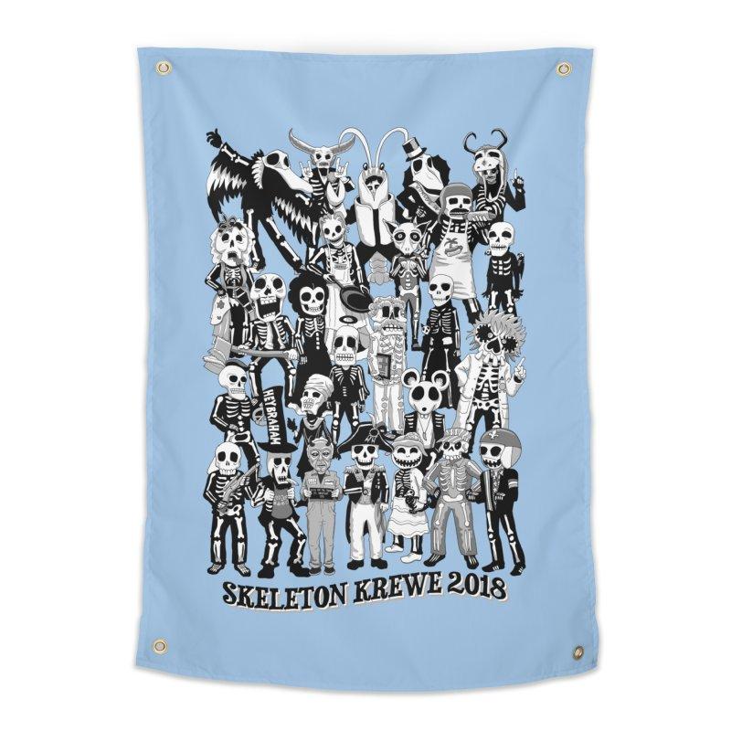 Skeleton Krewe 2018 Home Tapestry by Skeleton Krewe's Shop