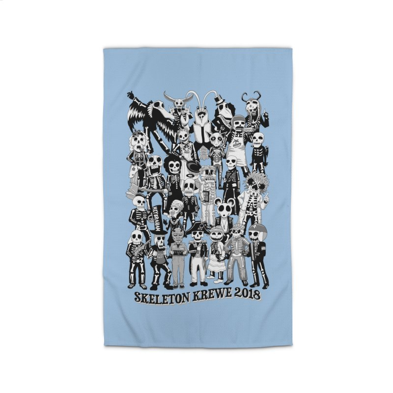 Skeleton Krewe 2018 Home Rug by Skeleton Krewe's Shop