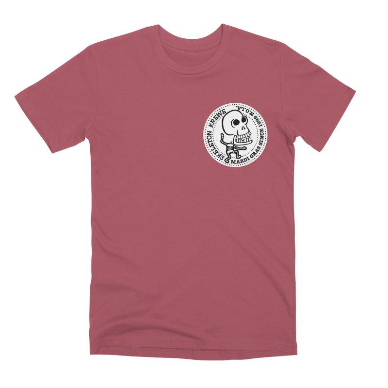Skeleton Krewe Small Logo Men's Premium T-Shirt by Skeleton Krewe's Shop