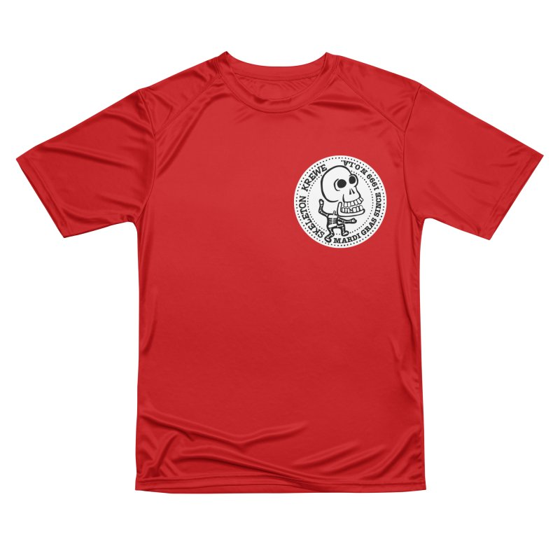 Skeleton Krewe Small Logo Men's Performance T-Shirt by Skeleton Krewe's Shop