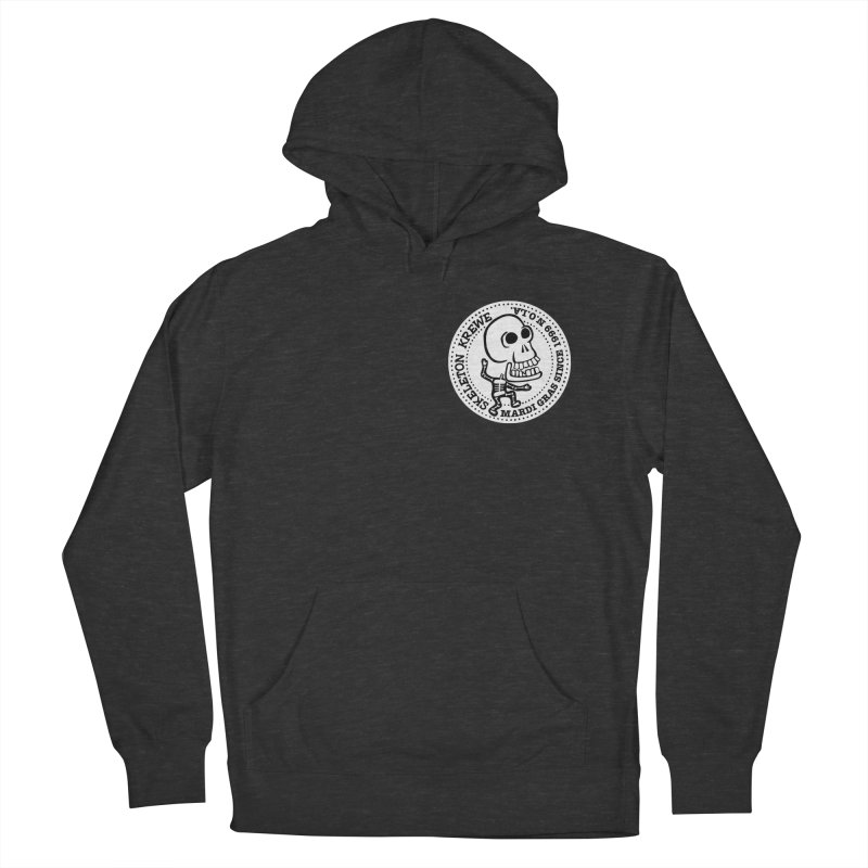 Skeleton Krewe Small Logo Women's Pullover Hoody by Skeleton Krewe's Shop