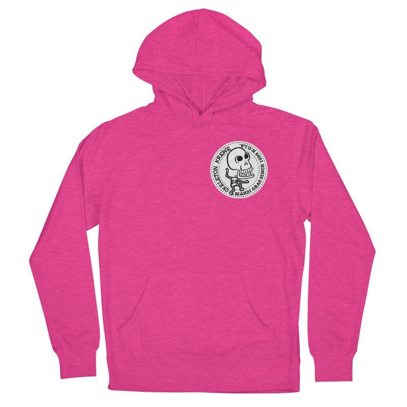 Skeleton Krewe Small Logo Women's Pullover Hoody by Skeleton Krewe's Shop