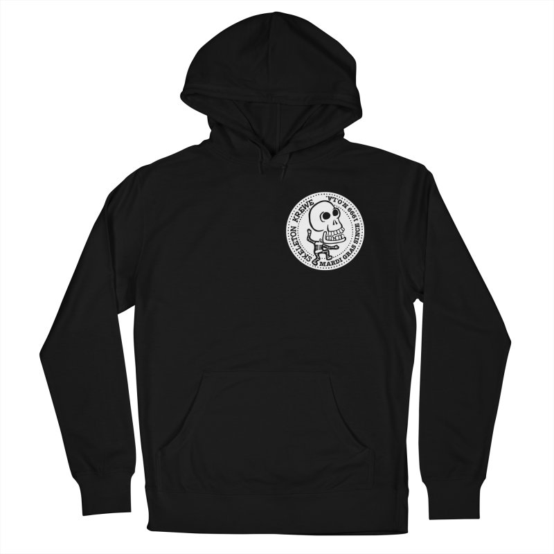 Skeleton Krewe Small Logo Women's French Terry Pullover Hoody by Skeleton Krewe's Shop