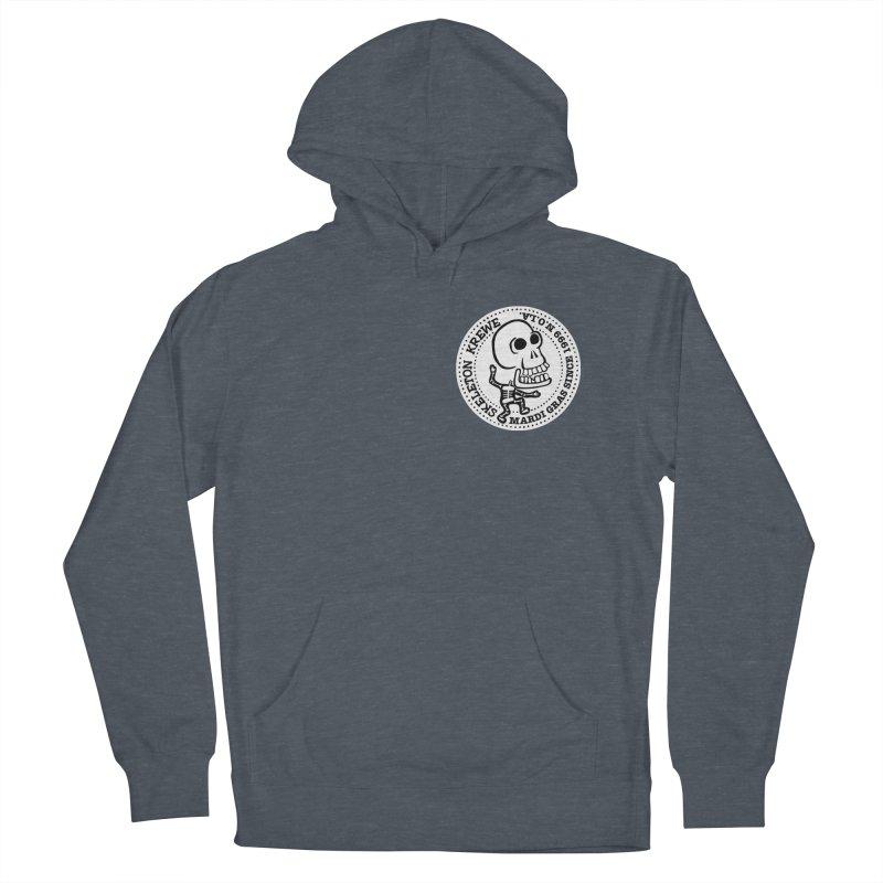 Skeleton Krewe Small Logo Men's French Terry Pullover Hoody by Skeleton Krewe's Shop