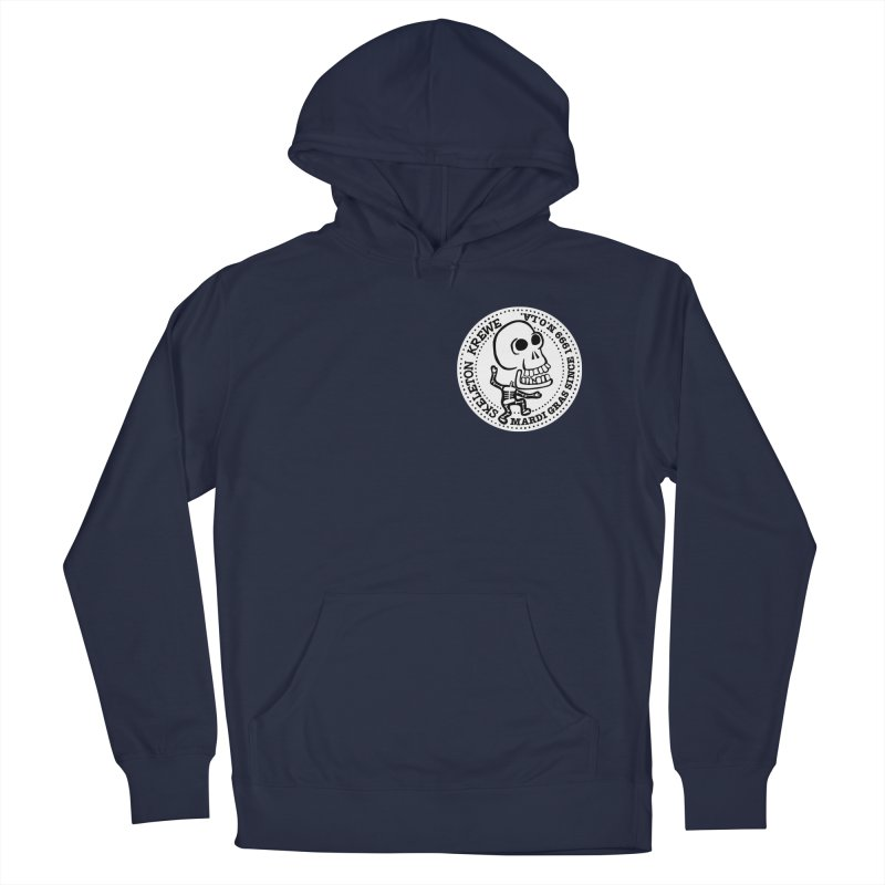 Skeleton Krewe Small Logo Men's Pullover Hoody by Skeleton Krewe's Shop