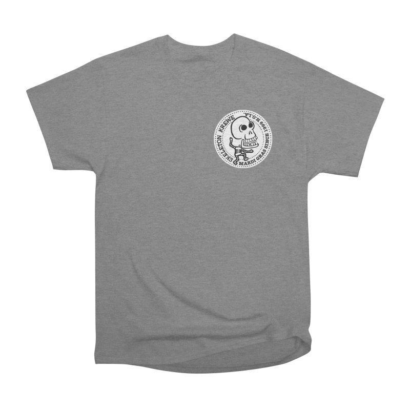 Skeleton Krewe Small Logo Men's Heavyweight T-Shirt by Skeleton Krewe's Shop