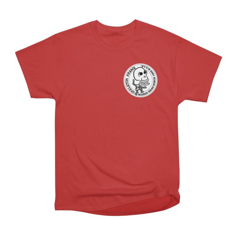 Skeleton Krewe Small Logo Women's Heavyweight Unisex T-Shirt by Skeleton Krewe's Shop