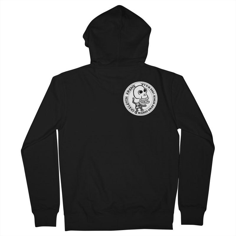 Skeleton Krewe Small Logo Women's Zip-Up Hoody by Skeleton Krewe's Shop