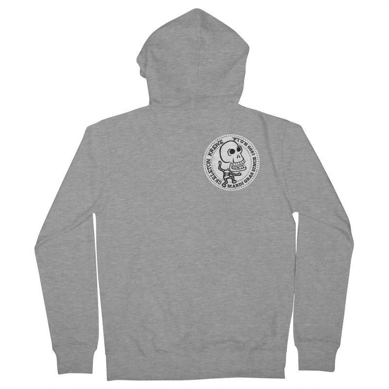 Skeleton Krewe Small Logo Men's Zip-Up Hoody by Skeleton Krewe's Shop