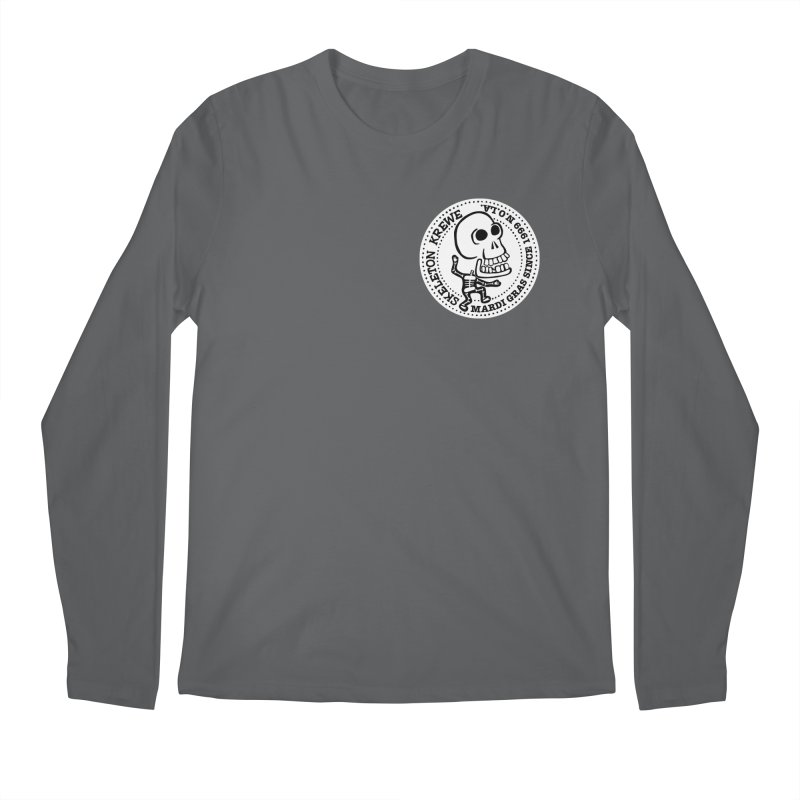 Skeleton Krewe Small Logo Men's Regular Longsleeve T-Shirt by Skeleton Krewe's Shop