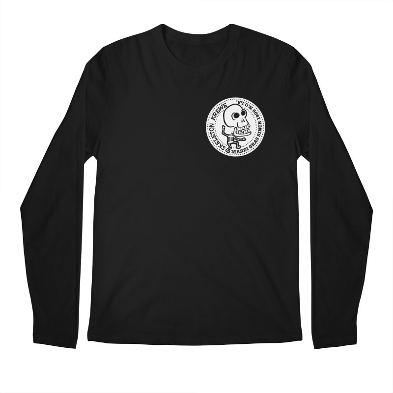Skeleton Krewe Small Logo Men's Regular Longsleeve T-Shirt by Skeleton Krewe's Shop