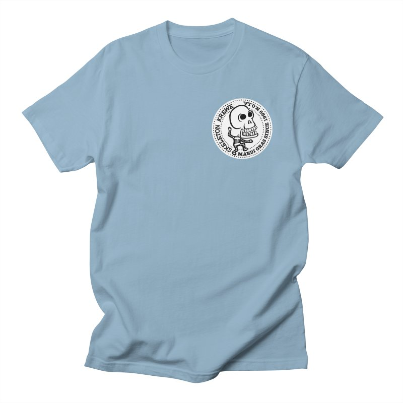 Skeleton Krewe Small Logo Women's Regular Unisex T-Shirt by Skeleton Krewe's Shop