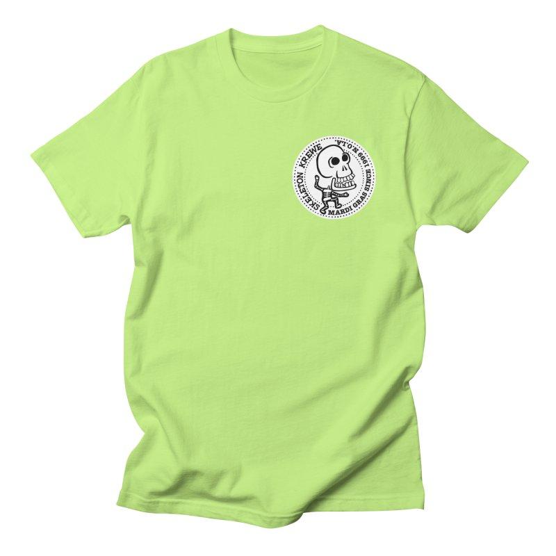 Skeleton Krewe Small Logo Women's Regular Unisex T-Shirt by Skeleton Krewe's Shop