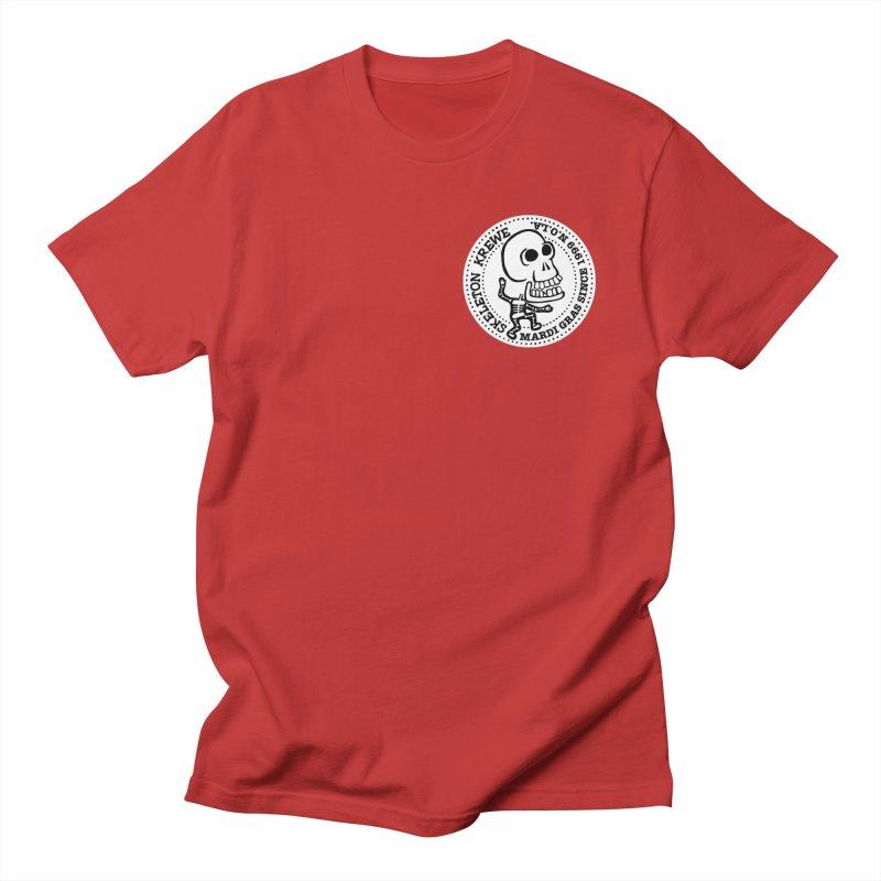 Skeleton Krewe Small Logo Men's Regular T-Shirt by Skeleton Krewe's Shop