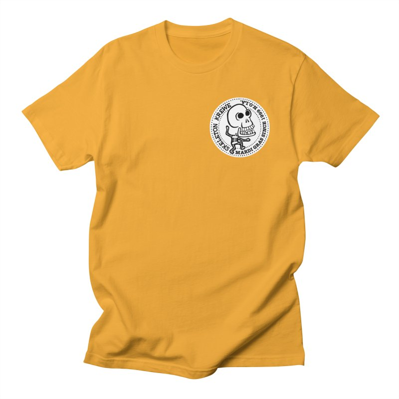 Skeleton Krewe Small Logo Men's T-shirt by Skeleton Krewe's Shop