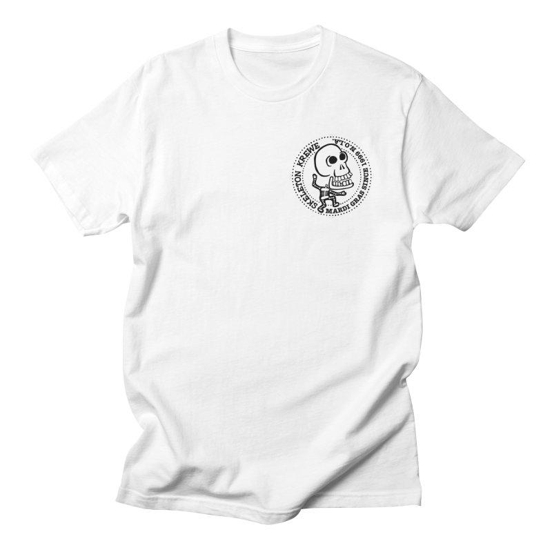 Skeleton Krewe Small Logo Men's T-shirt by Skeleton Krewe's Shop