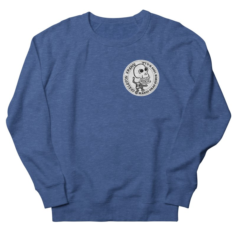 Skeleton Krewe Small Logo Women's French Terry Sweatshirt by Skeleton Krewe's Shop