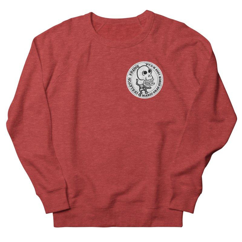Skeleton Krewe Small Logo Men's Sweatshirt by Skeleton Krewe's Shop