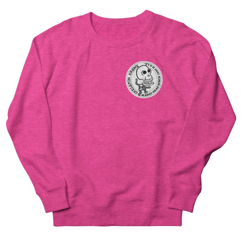Skeleton Krewe Small Logo Men's French Terry Sweatshirt by Skeleton Krewe's Shop
