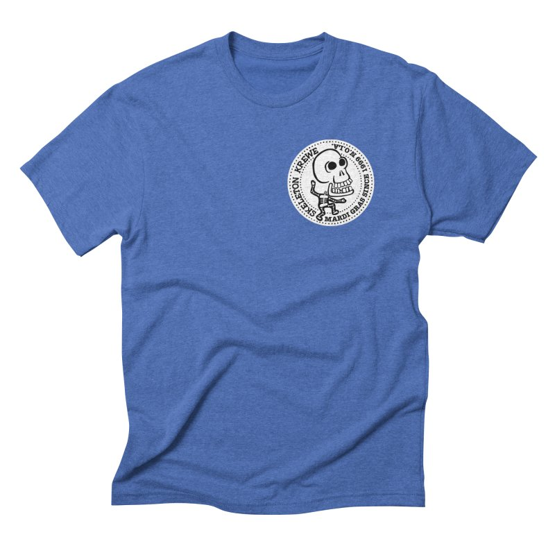 Skeleton Krewe Small Logo Men's Triblend T-Shirt by Skeleton Krewe's Shop