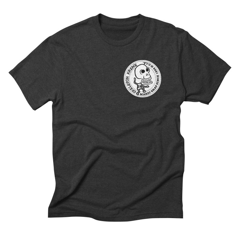 Skeleton Krewe Small Logo Men's Triblend T-shirt by Skeleton Krewe's Shop