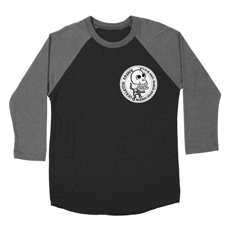 Skeleton Krewe Small Logo Women's Baseball Triblend T-Shirt by Skeleton Krewe's Shop