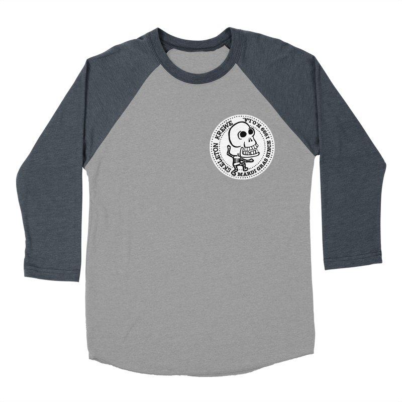 Skeleton Krewe Small Logo Women's Baseball Triblend Longsleeve T-Shirt by Skeleton Krewe's Shop