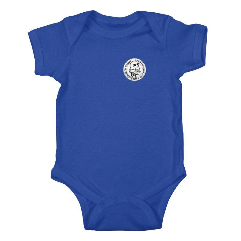 Skeleton Krewe Small Logo Kids Baby Bodysuit by Skeleton Krewe's Shop