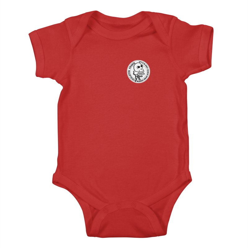Skeleton Krewe Small Logo Kids Baby Bodysuit by Skeleton Krewe's Shop