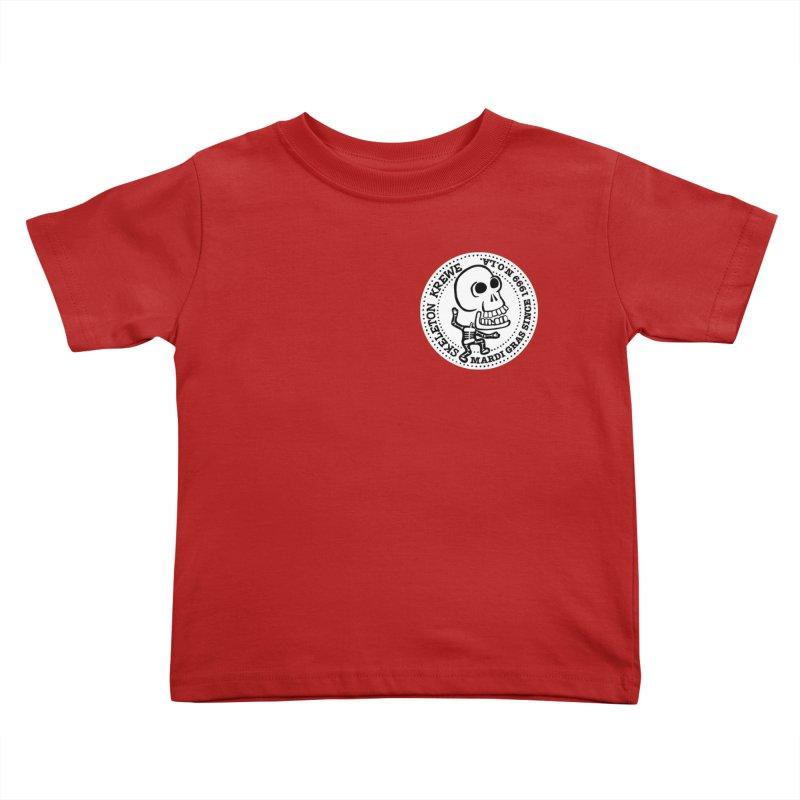 Skeleton Krewe Small Logo Kids Toddler T-Shirt by Skeleton Krewe's Shop