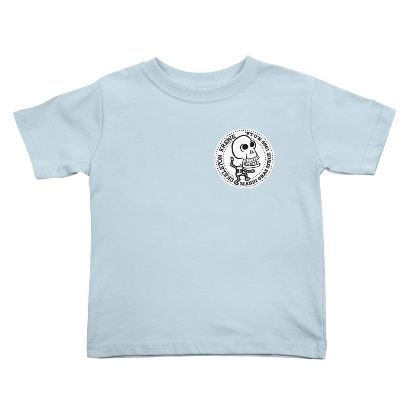 Skeleton Krewe Small Logo Kids Toddler T-Shirt by Skeleton Krewe's Shop