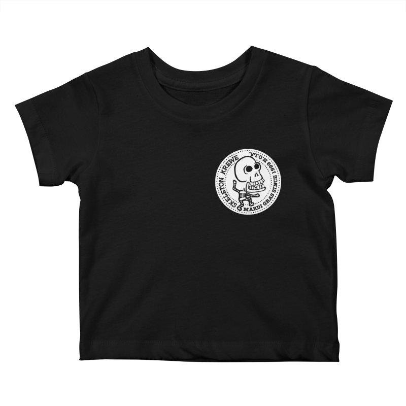 Skeleton Krewe Small Logo Kids Baby T-Shirt by Skeleton Krewe's Shop