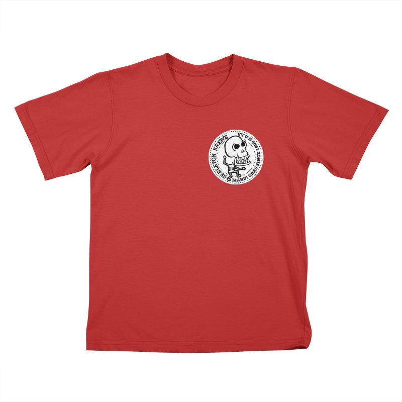 Skeleton Krewe Small Logo Kids T-Shirt by Skeleton Krewe's Shop