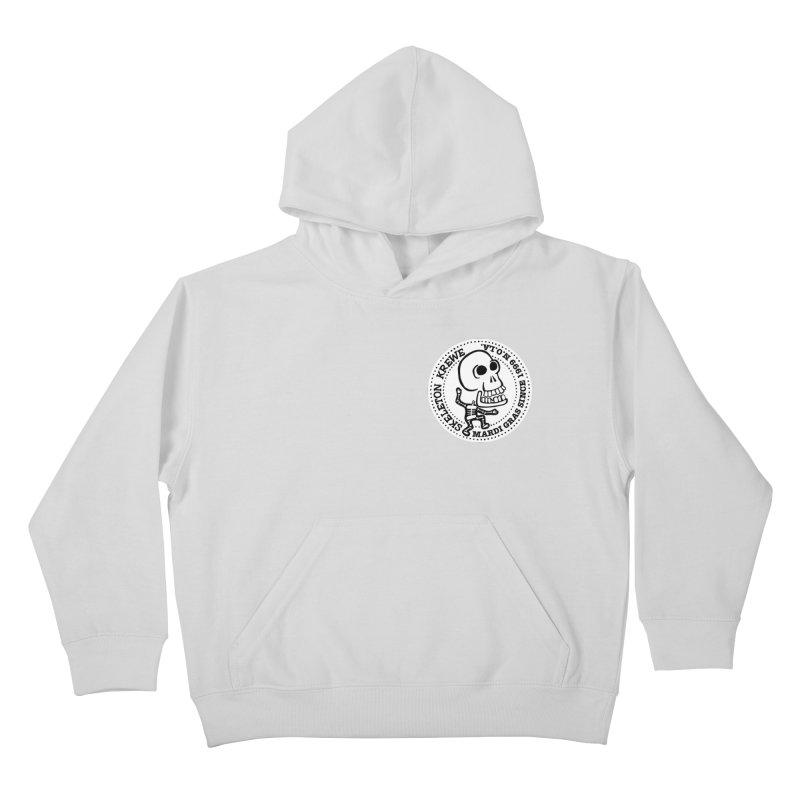 Skeleton Krewe Small Logo Kids Pullover Hoody by Skeleton Krewe's Shop